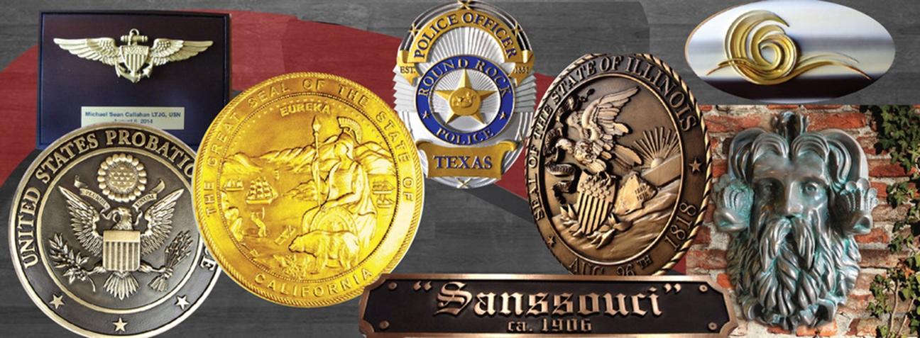 Bronze,  Brass  Plaques of Great Seals
