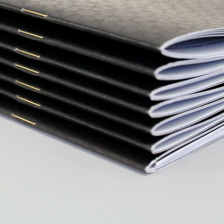 Saddle Stitch Binding