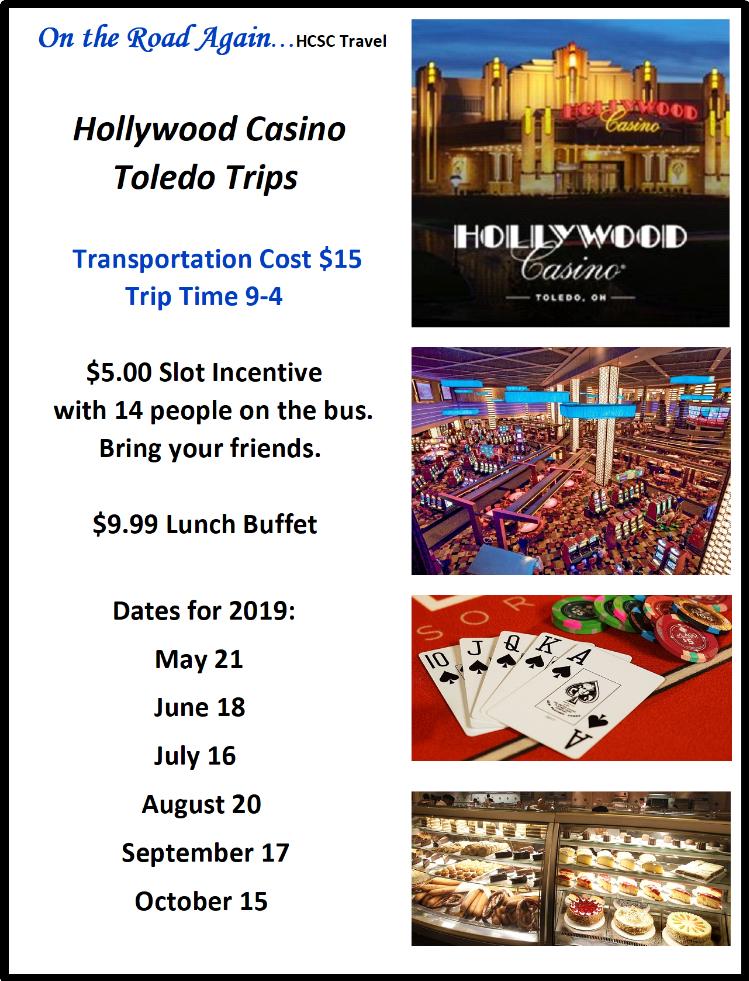 May 21 Hollywood Casino Toledo