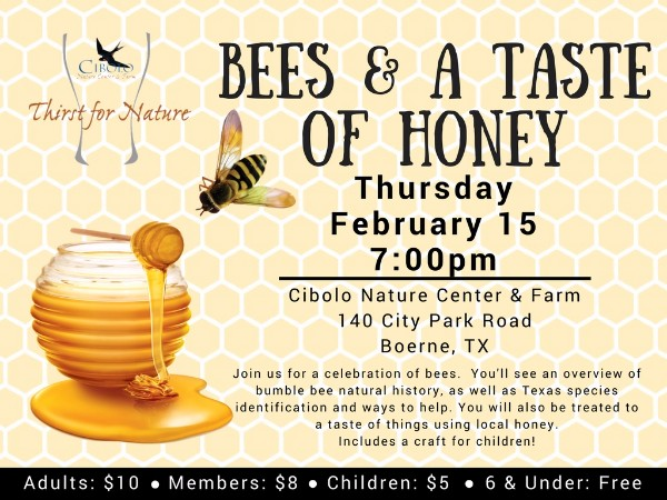 CNC: a Thirst for Nature event: Bees