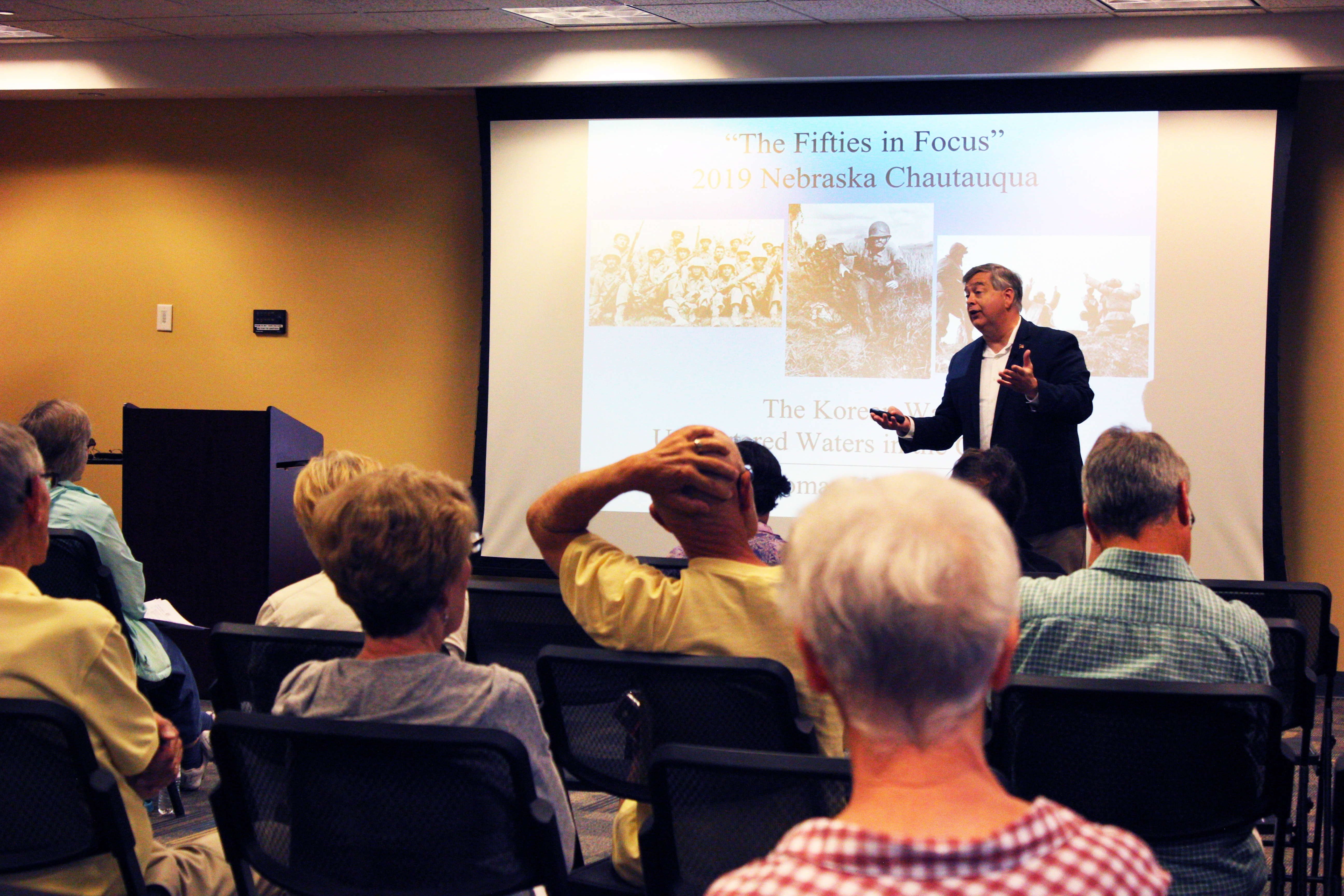 Dr. Thomas Berg session: The Korean War
