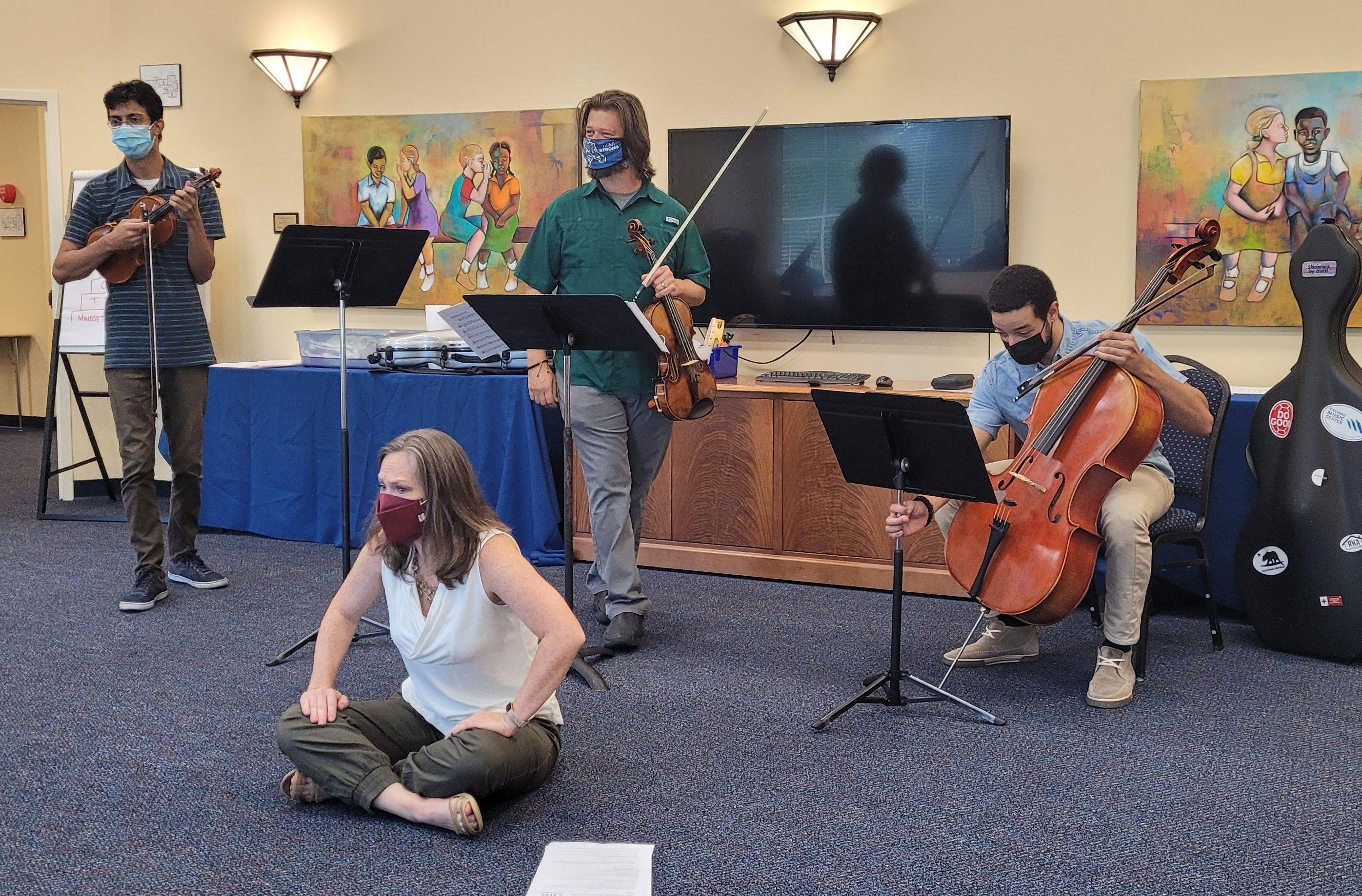 Iris Orchestra Back at MOSD