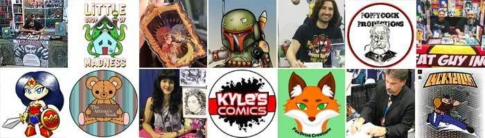 Get up close and personal with dozens of local artists in our artist alley!