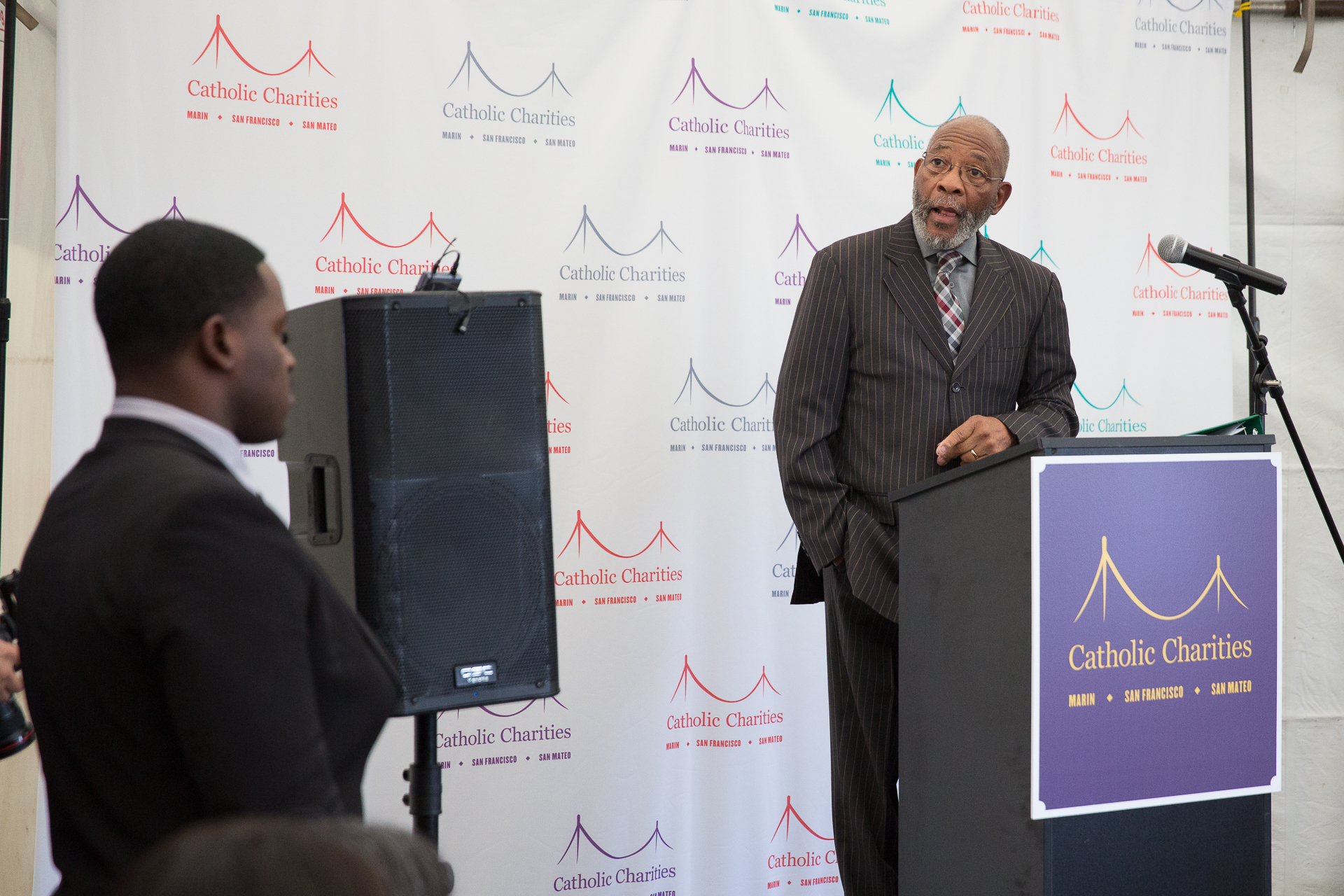 Reverend Dr. Amos Brown, civil rights activist and head of the San Francisco NAACP, spoke about racial justice and the imperative of honoring Black History every day.