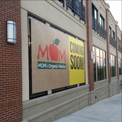 Mom's Organic Market Banner