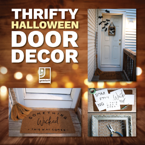 Halloween DIY: Door Décor