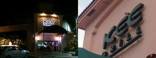 Sign Repair and Sign Maintenance in Boca Raton for Kee Grill Restaurant
