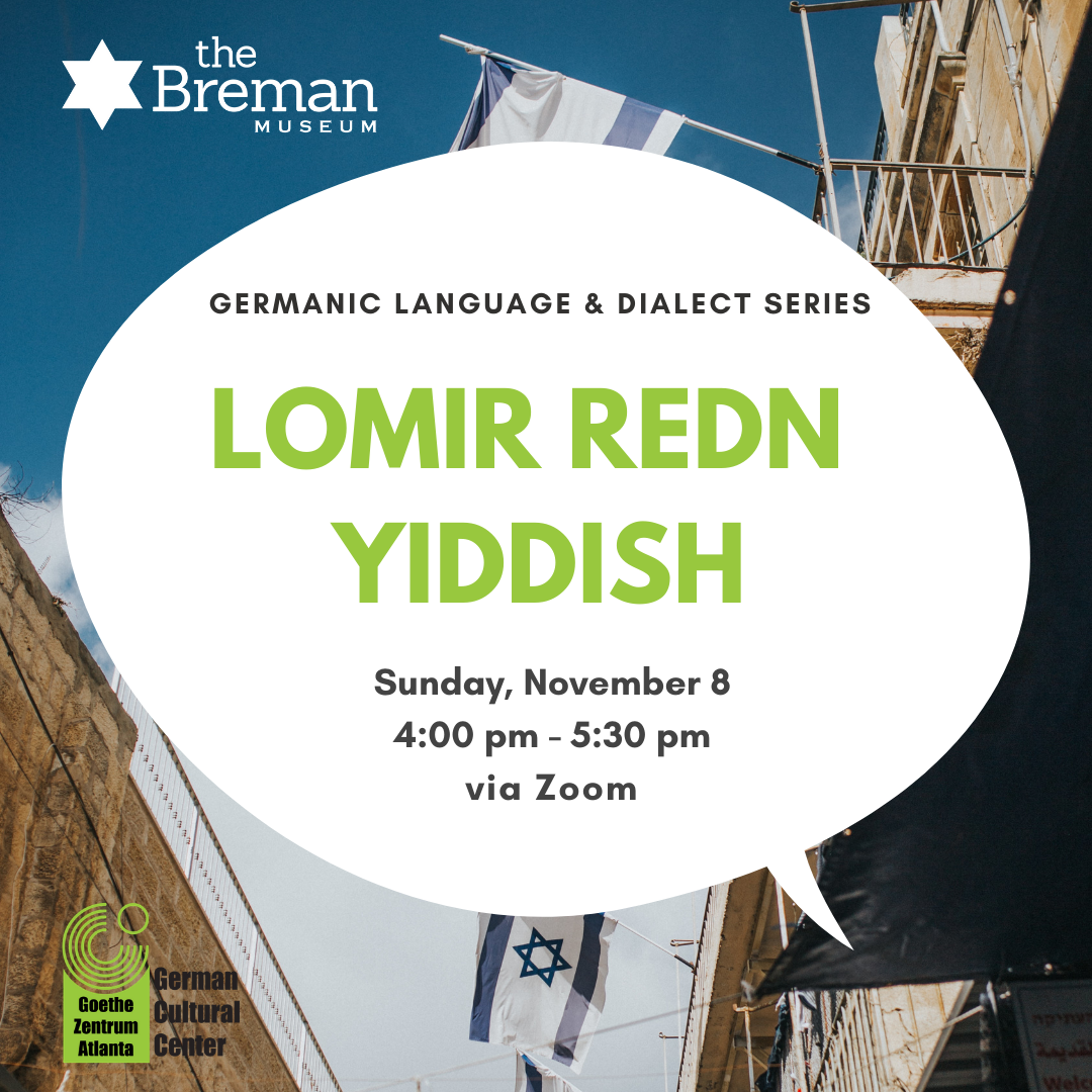 Germanic Language & Dialect Series: Yiddish