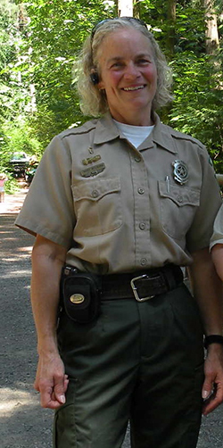 Ranger Mary Welborn Retires