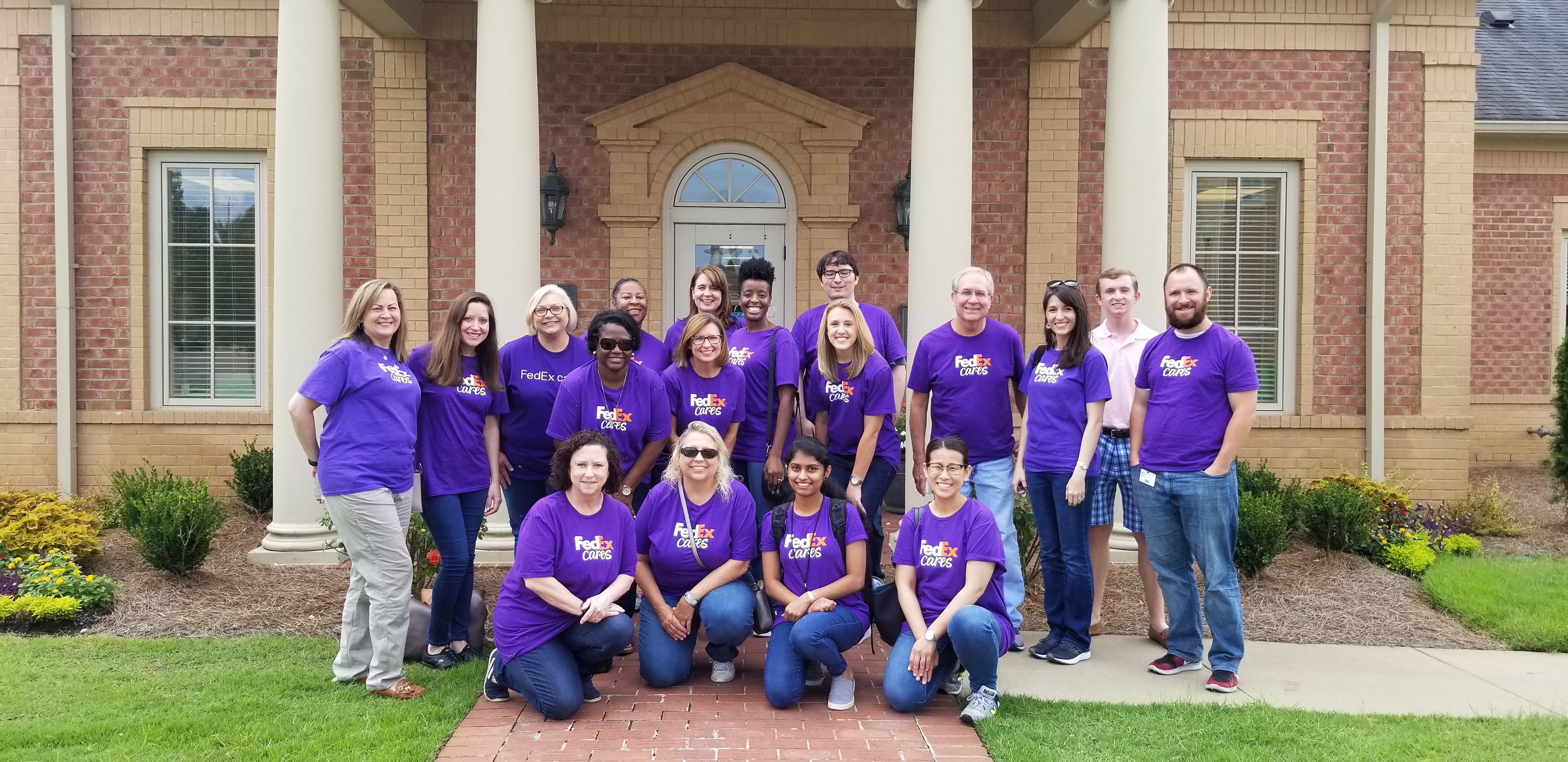 FedEx Cares Visits MOSD!