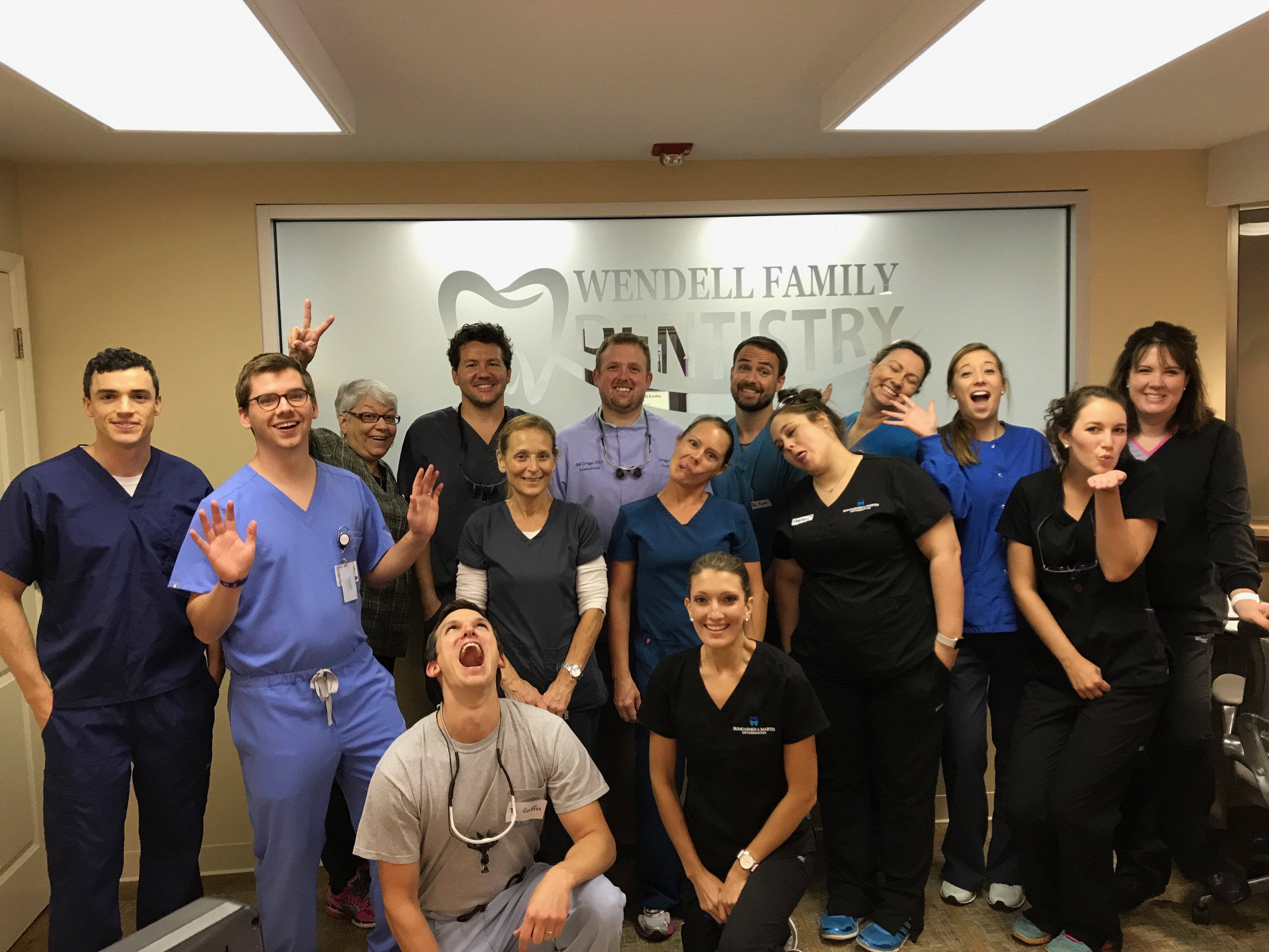 Partnering with Wendell Family Dentistry once a year!