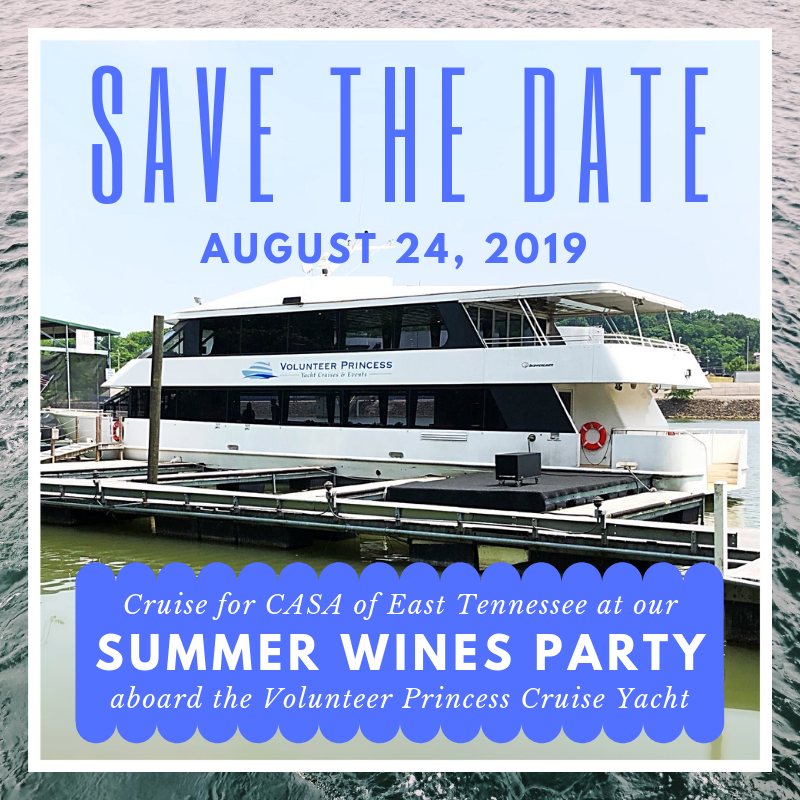 CASA of East Tennessee Summer Wines Party