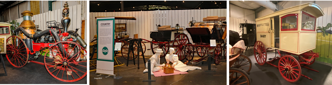 Tickets for the Winmill Carriage Museum