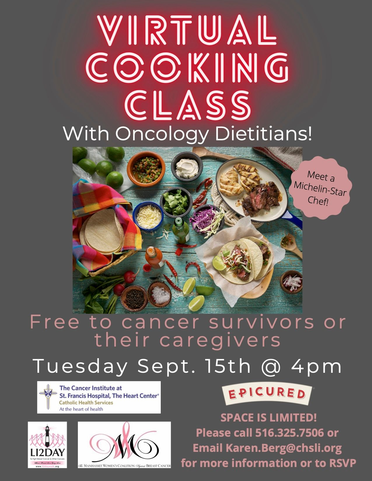 FREE Virtual Cooking Class