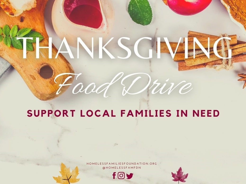 HFF Thanksgiving Food Drive