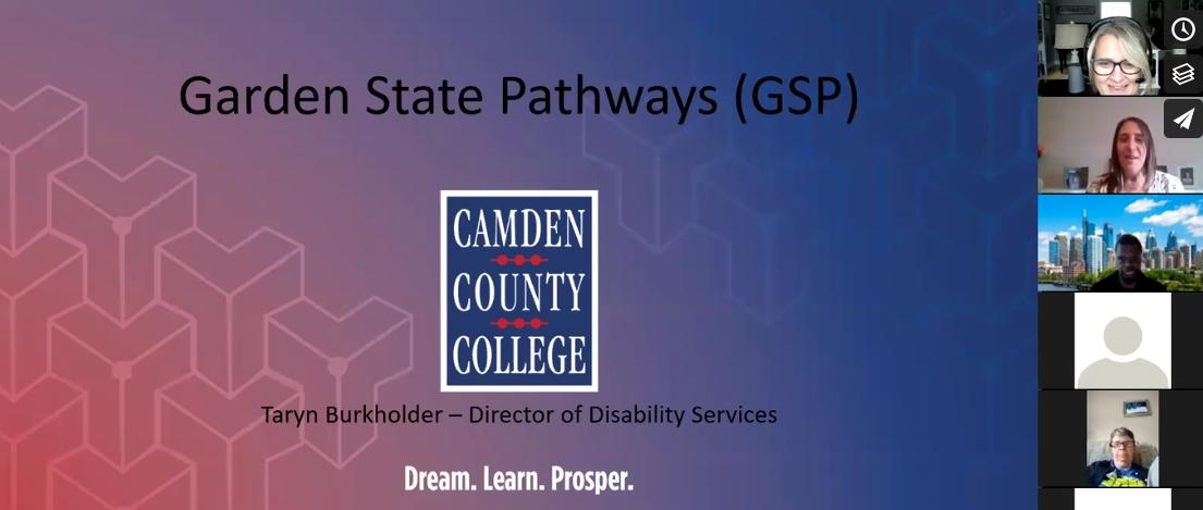 Virtual College Tour: Garden State Pathways Program