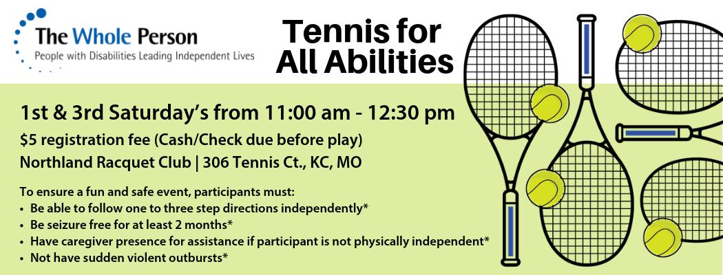 All Abilities Tennis Program