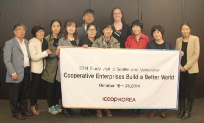 Nora Menkin meets iCoop Representatives