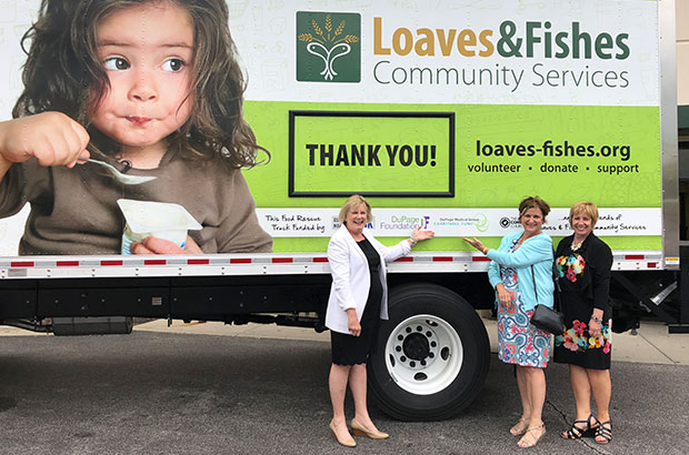 Loaves & Fishes Debuts Food Truck