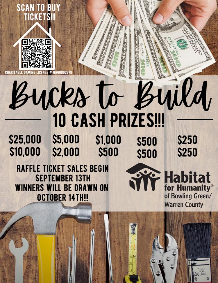 Bucks to Build!