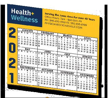 02 - Calendar Magnet Horz