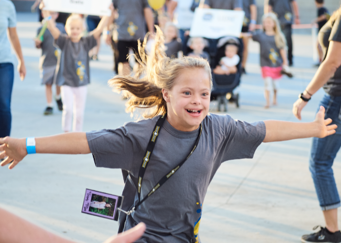 Register for the Mighty Steps for Down syndrome Walks