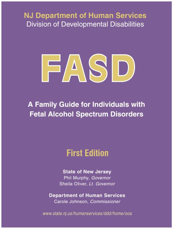 Family Guide for Fetal Alcohol Spectrum Disorders