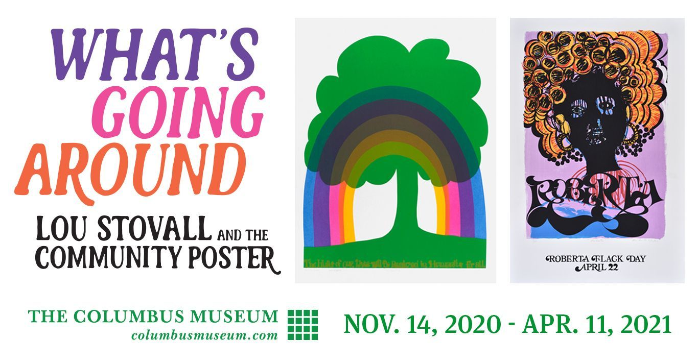 What's Going Around: Lou Stovall and the Community Poster, 1967–1976