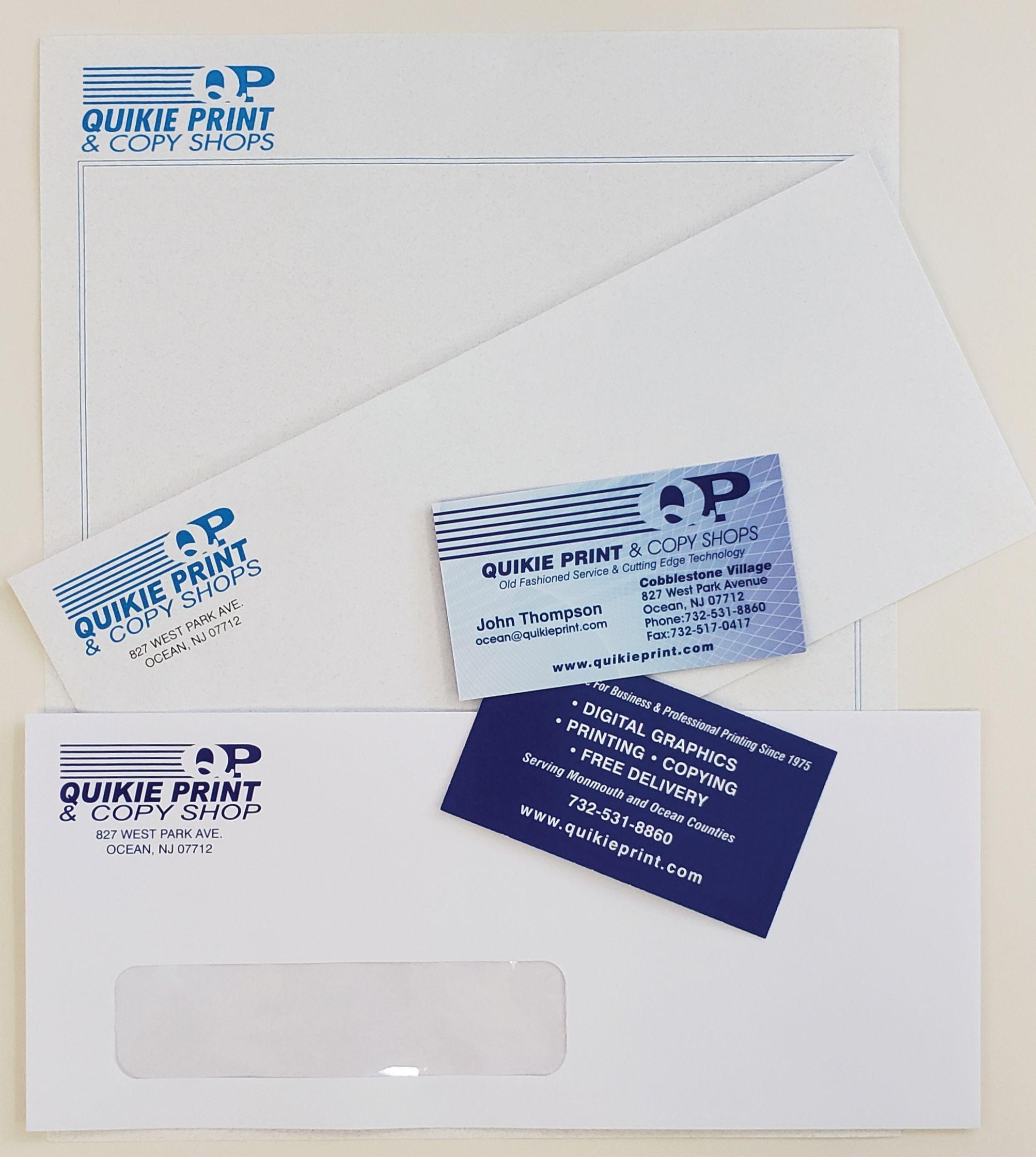 Stationary - Letterhead, Envelopes, Business Cards