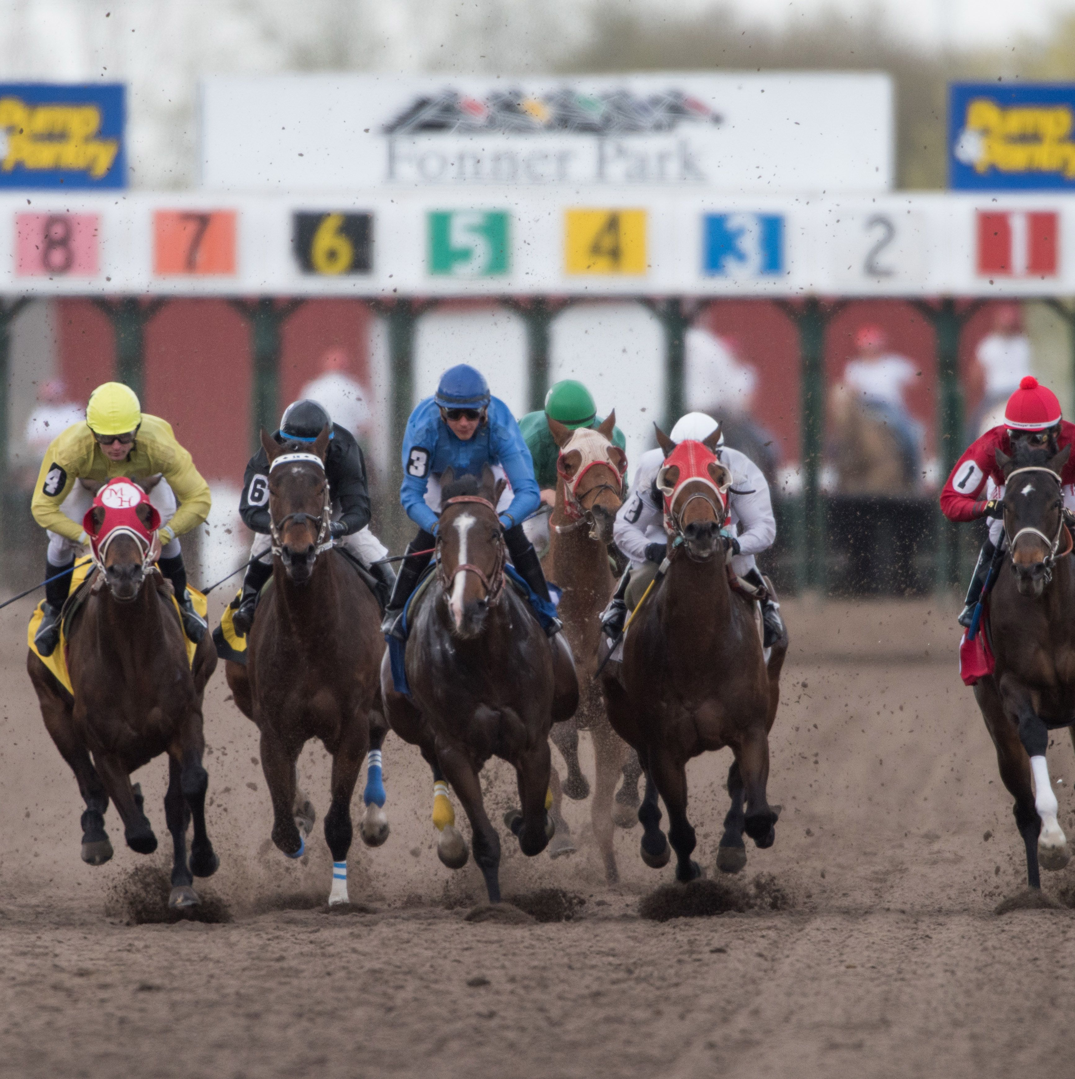 Live Thoroughbred races have thundered around the track at Fonner Park for more than 60 years.