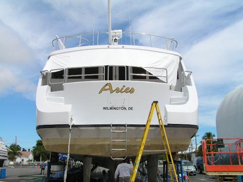 """""""Aries"""" Yacht"""