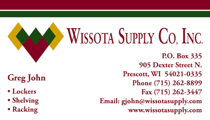 Wissota Supply Business Card