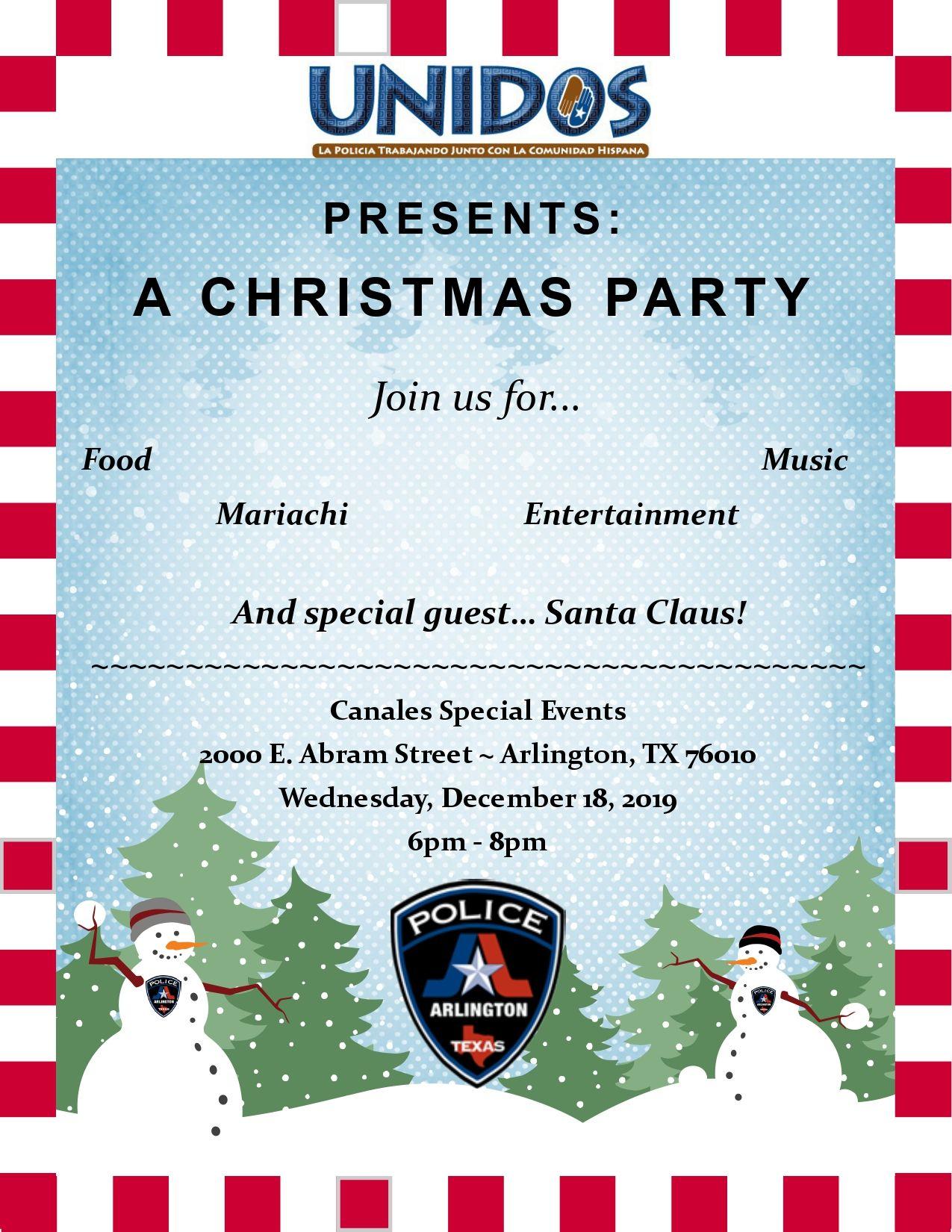 UNIDOS! A Christmas Party!
