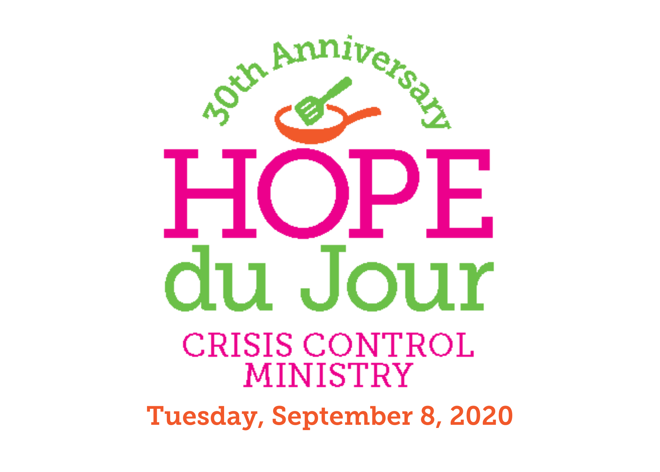 Hope du Jour is September 8th!