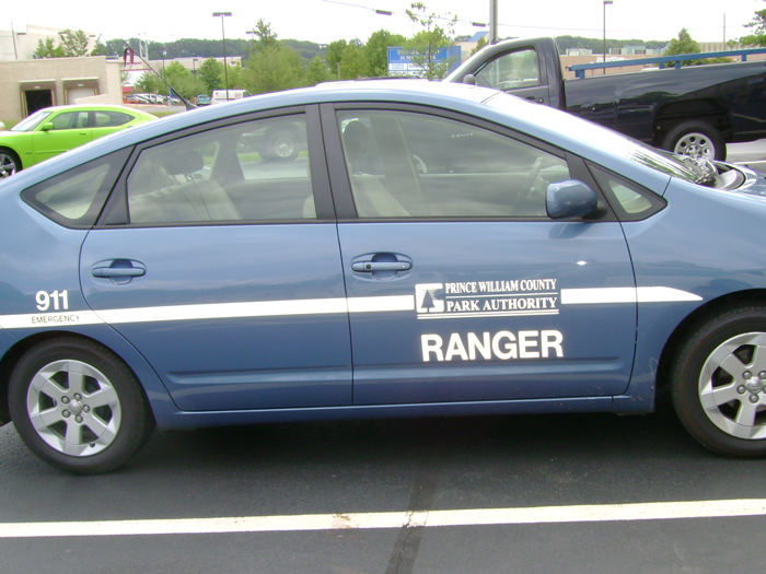 PWC Ranger Car Graphics