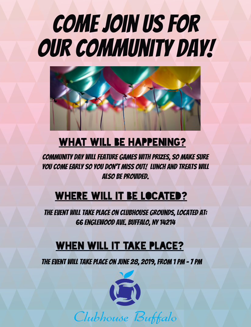 Clubhouse Community Day