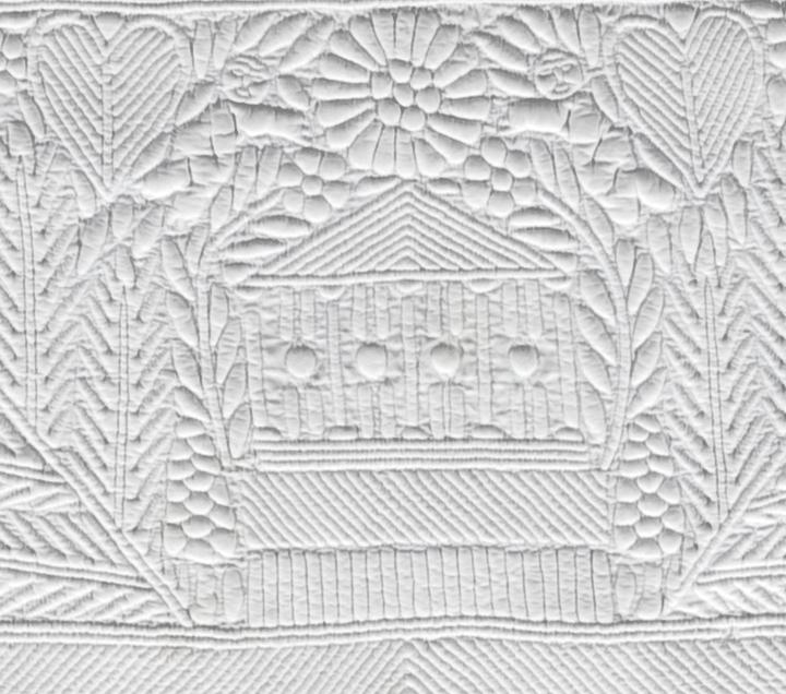 Bedcover, IQSCM 2005.018.0010, Detail