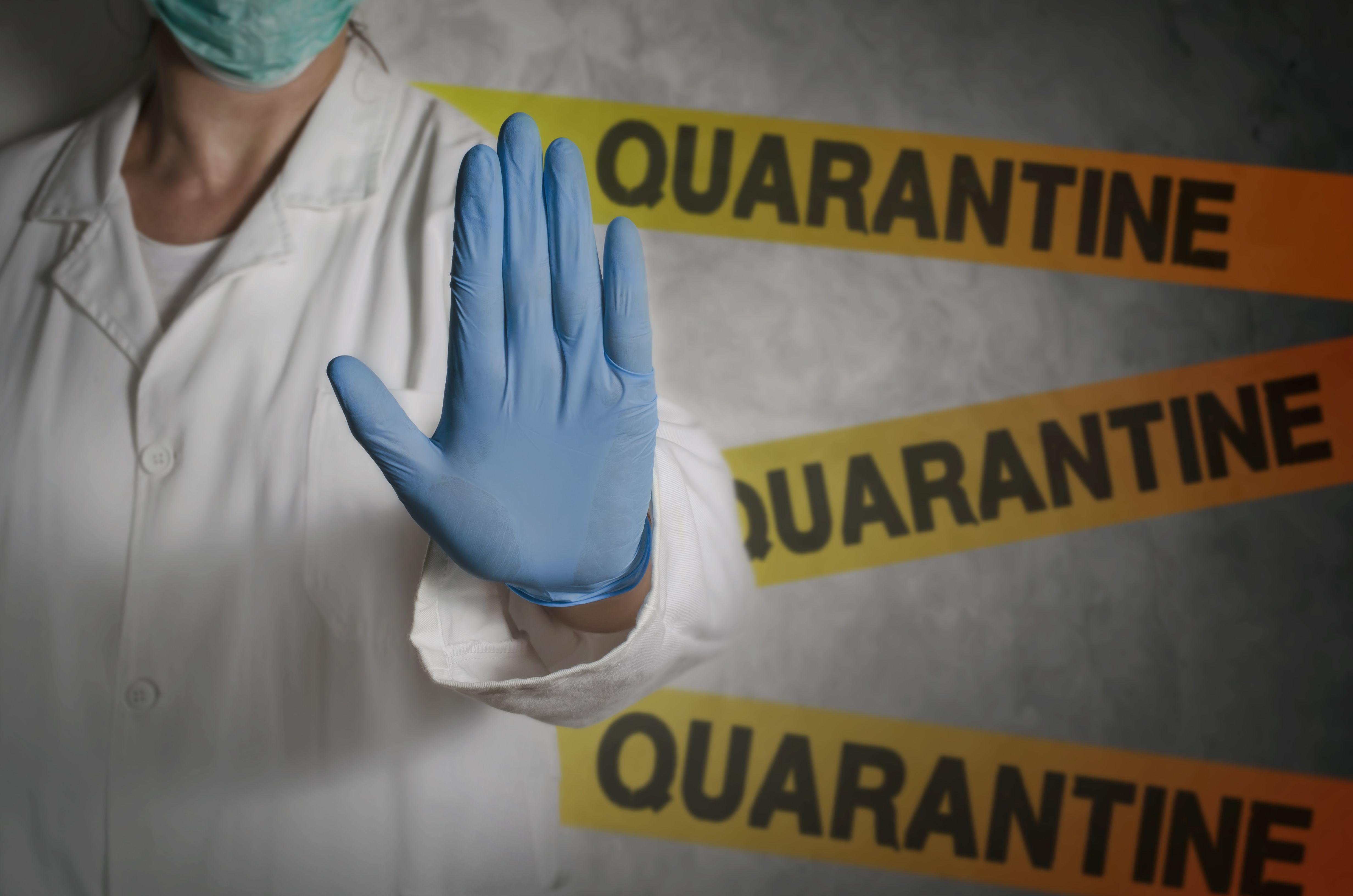 Information on Quarantine--Información sobre cuarentena