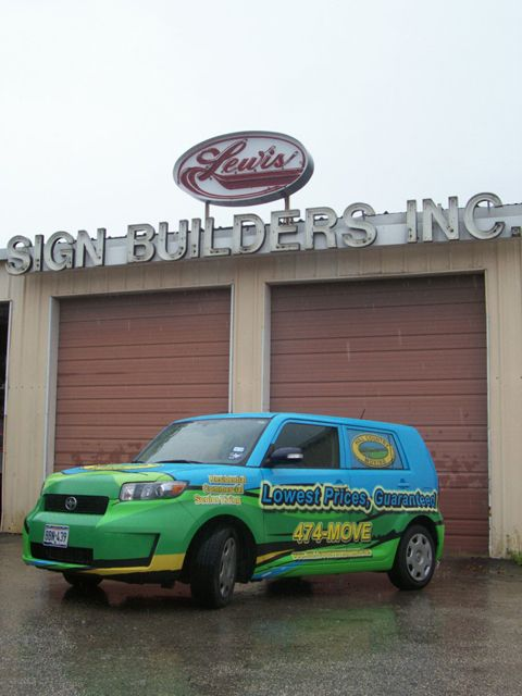 Hill Country Moving -Vehicle Wrap