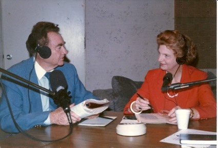 Clyde and Ruth Narramore began offering Christian and missionary support through a radio show from their home.