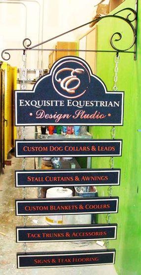 P25070 - Equestrian Design Studio & Store Sign