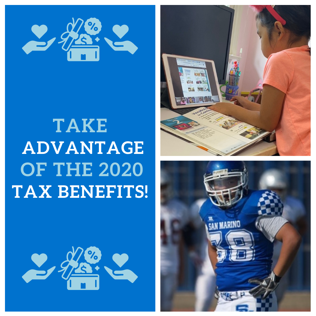 Take Advantage of Tax Benefits!