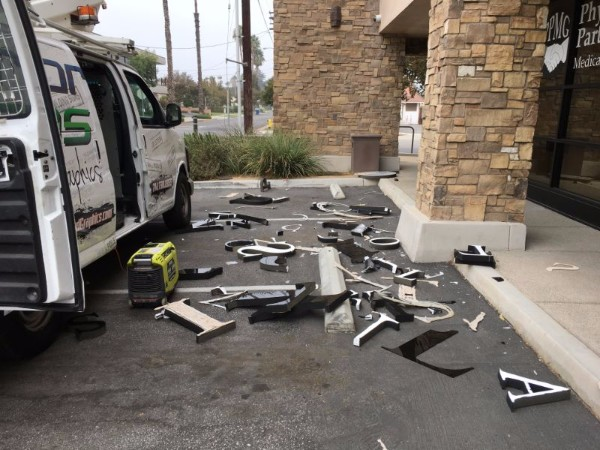 Building Letter Removals in Los Angeles County CA