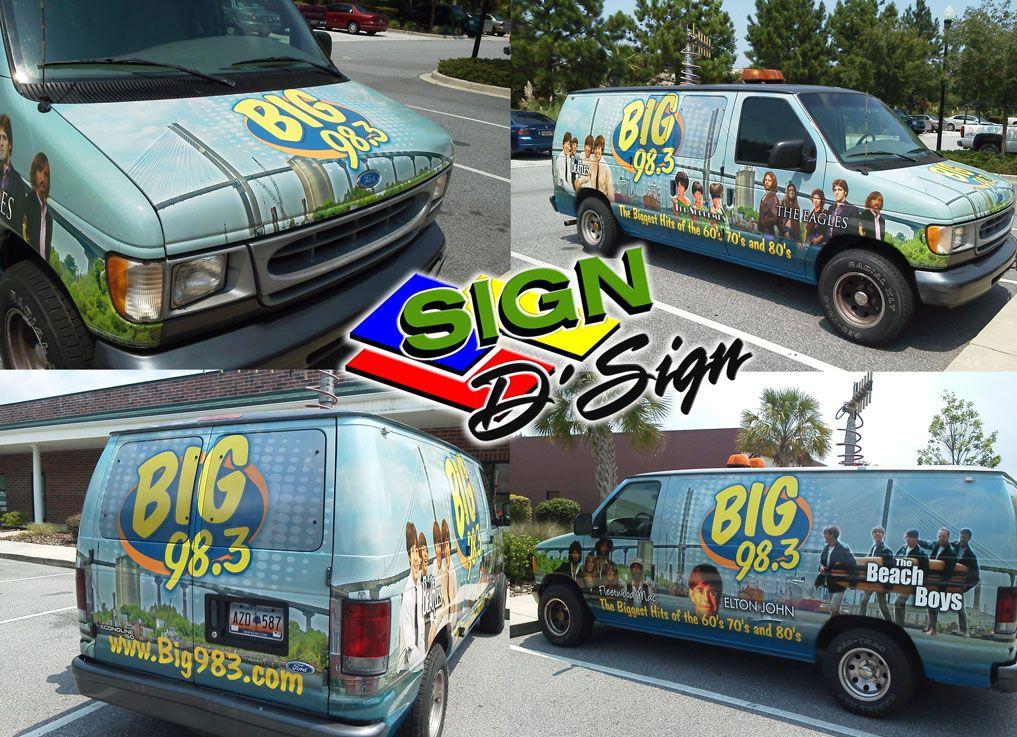 Big 98.3 Van