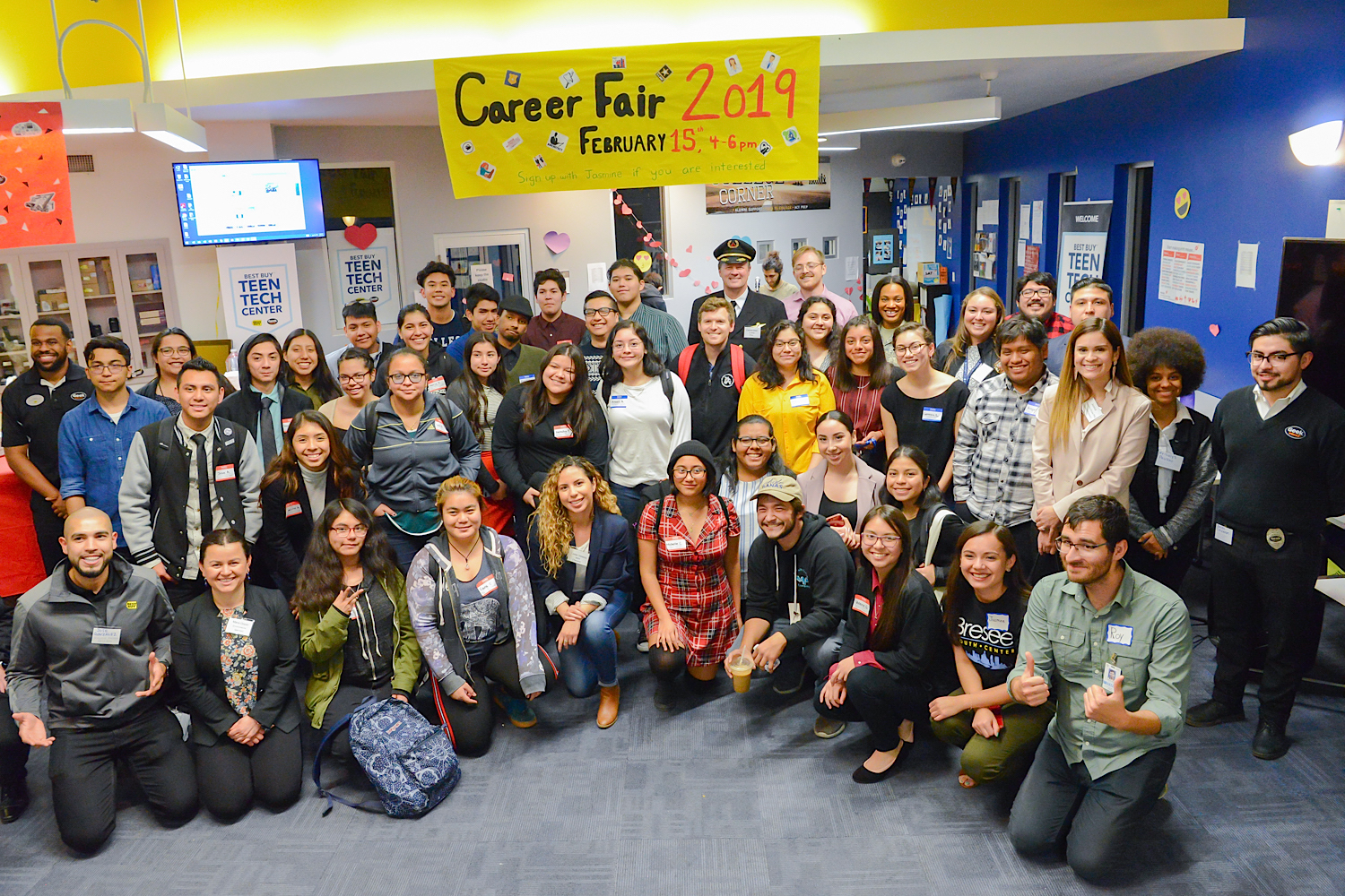 Bresee Hosts Career Fair 2019