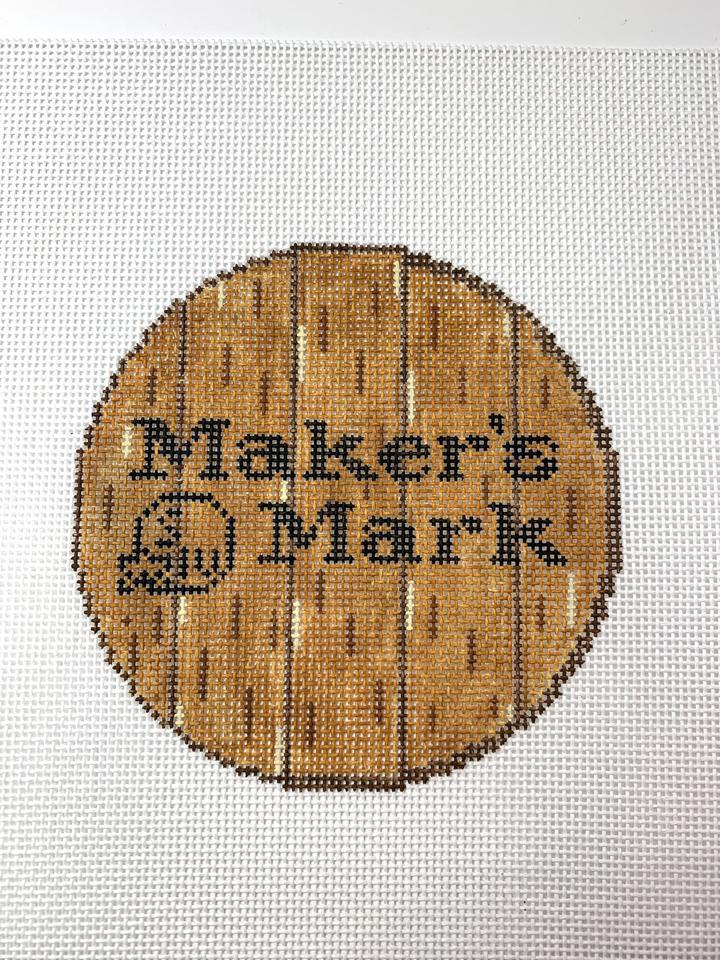 Bourbon Barrel Head - Maker's Mark