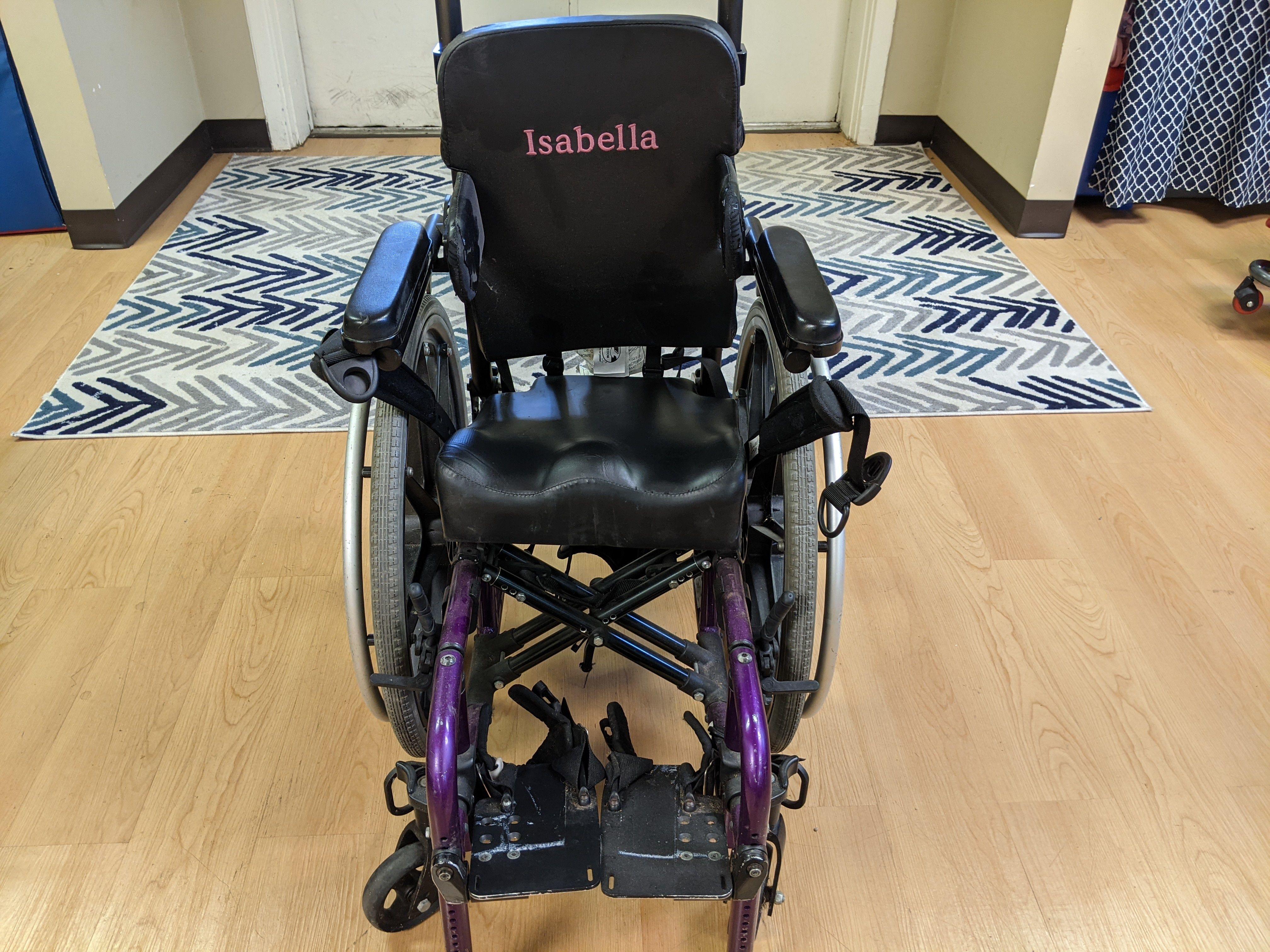 Katalyst Folding Wheelchair