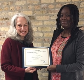 Ellen Browne Caregiver of the Year - 2018