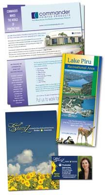 Commercial Printing (Brochures, Booklets, Stationery, etc.)