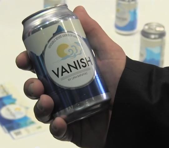 Vanish Clear on Clear